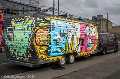 THE MOBILE VINTAGE SHOP - Composition Wednesday #PhotoOfTheDay #SMYNYC #graffitiart #graffitilove #artoftheday #artwork #streetart #spraypaint #Brooklyn #NewYork #Bushwick #ArtsInActionBushwick #brooklynstreetart #graffitinyc #graffiti #streetart #avisualbliss #tatscru #nycgraffiti #nycstreetart #trailer #streetphotography #Photography #NikonPhotography #Nikon #2016 #Art #ErikMcGregor  © Erik McGregor - erikrivas@hotmail.com - 917-225-8963