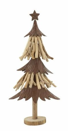 Get ready for the Christmas celebration in your house by bringing this alluring wood metal Xmas tree.