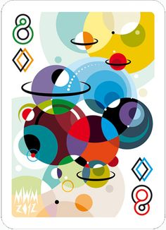 is a deck of playing cards with a difference. The premise of was to have a standard deck of playing cards with each card revived by an international designer or illustrator in their own signature style. Graphic Design Illustration, Illustration Art, Bridge Card Game, Tarot, Exhibition Poster, Typography Poster, Deck Of Cards, Game Design, Illustrations Posters