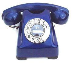 Color Azul Cobalto - Cobalt Blue!!! Telephone