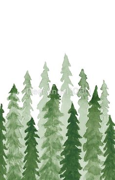watercolor redwood t