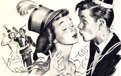 An unexpected New Year's kiss... ....FELICE ANNO NUOVO... ...BUON 2015... …