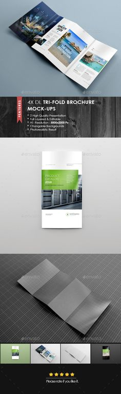 Trifold Brochure Mockup Vol  Design Templates Style And Brochures