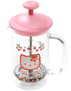 Hello Kitty coffee press. I don't drink coffee but it'd be nice to have for guests.