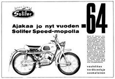 Solifer_speed_64 Teenage Years, Old Toys, Ancient History, Vintage Ads, Cars And Motorcycles, Finland, Motorbikes, Nostalgia, Memories