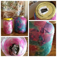 A great idea with a step by step process on how the kids can make a sadaqah jar at home.