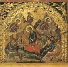 Byzantine Icons, Byzantine Art, Religious Images, Religious Icons, Religious Paintings, Boat Art, Best Icons, Art Icon, Orthodox Icons