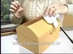 Tv Transamérica - Artesanato Bau em imitação de couro 1 - YouTube