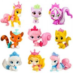 The Disney Princess Palace Pets Mini Pets are tiny 1.5-inch collectible versions of the original Palace Pets.