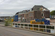 De afbraak van de Houttuinen in Delft Delft, Rotterdam, Nostalgia, Street View, Historical Photos