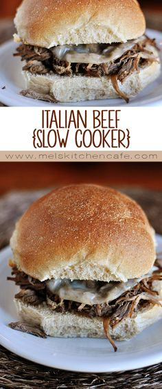 This crockpot Italian Beef is simple and completely delicious.