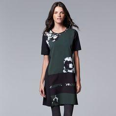Simply Vera Vera Wang Print Shift Dress - Kohl's I have this and love it