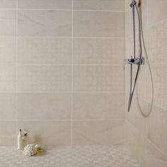 Faïence mur pierre beige mat l.30 x L.60 cm, Colysee Beige, Alcove, Tile Floor, Bathtub, Flooring, Bathroom, Products, Wall Tiles, Stone