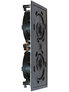 "Beale Street Audio Releases In-wall L/C/R Speaker - "" Part of the company's Pancake Series of speakers that measure less than three inches deep and employ Sonic Vortex technology, the new two-way L/C/R model comes in two different forms: the IPLCR-BB features a one-inch Titanium tweeter and dual four-inch carbon fiber woofers, and the BXPLCR401 (shown here) uses a one-inch aluminum tweeter and dual four-inch ribbed injected polypropylene woofers."" - Home Theater Review"