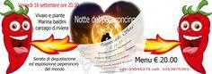 #seratadegustazione #esposizione #peperoncini #piccanti del #mondo #hotpepper #and #food