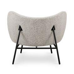 Small Furniture, Home Furniture, Furniture Design, Office Furniture, Garden Hose Holder, Burke Decor, Grey Fabric, Bassinet, Interior And Exterior