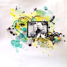 2getha 4eva by Jasmine Shea, featuring Scrap FX chipboard: Graffiti heart, Lovebirds A Rustic Heart. www.scrapfx.com.au