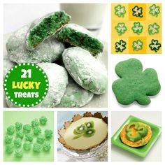 Celebrate St. Patrick's Day with our clover cookies, shamrock pretzels, and more!