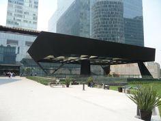 Steel Canopy / New Cultural Architecture in Polanco, Mexico City
