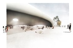 Inflatable building « Estudio Agraph - Drawing Architecture