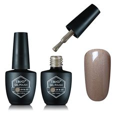 Elite99 UV LED Soak off Nail Gel Polish Long Lasting Shiny Color Gel Manicure Pedicure Nail Polish Nail Varnish 10ml Taupe Model *** Check out the image by visiting the link.Note:It is affiliate link to Amazon.