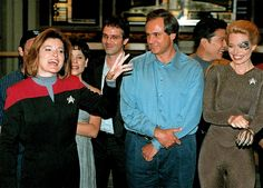 Voyager's 100th Episode Party - August 12, 1998