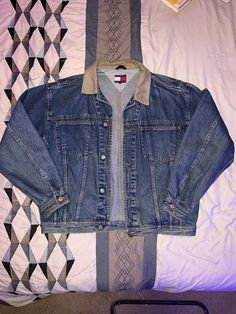 aff2957d21f5 Extra Off Coupon So Cheap Vintage Tommy Hilfiger Denim Jacket