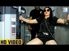 Check out Rakhi Sawant's hilarious gym video. This video will surely make you laugh out loud. Take a look at the video.