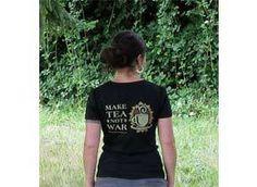 Mountain Rose Herbs: T-Shirt- Make Tea Not War Womens