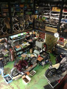 1000 images about motorcycle shack on pinterest for Motorcycle garage plans