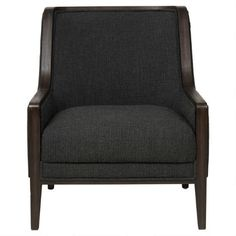 Rutherford Armchair -Charcoal
