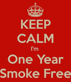 As of today June 20 2014,I am one year smoke free. After 20+ years of smoking I never thought I'd be able to quit. #vaping