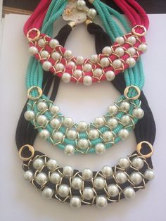 juegos de collares de moda