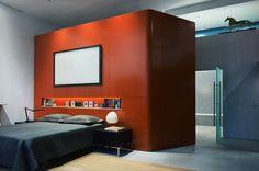 13th St. Loft Wood Interior Walls, Modern Interior, Interior Styling, Wood Walls, Wood Interiors, Industrial Loft, Marble, Furniture, Home Decor