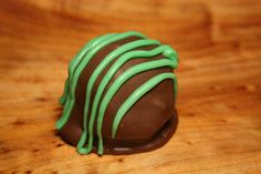 Mint Infused Vanilla Cake Balls, Dipped in Chocolate (One Dozen). $16.50, via Etsy.