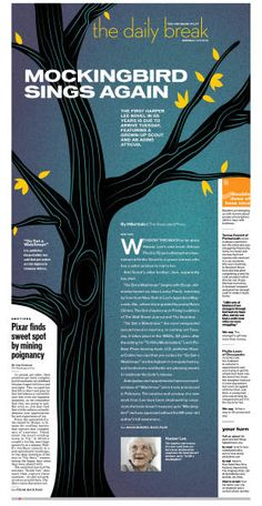 A design I did for The Virginian Pilot last summer.