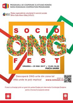 """SociONGFest, primul festival regional al organizațiilor non-guvernamentale active în domeniul social, va avea loc în data de 25 mai, în centrul Municipiului Oradea. Sub deviza """"Descoperă ONG-urile din zona ta! Află unde te poți implica!"""", evenimentul va aduce în prim plan ajutorul şi ajutorarea. """"În cadrul târgului peste 30 de ONG-uri active în domeniul social …"""