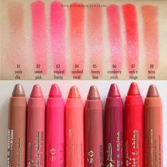 Jordana Twist & Shine Moisturizing Balm Stain Review & Swatches - www.bonniebeautyxo.com