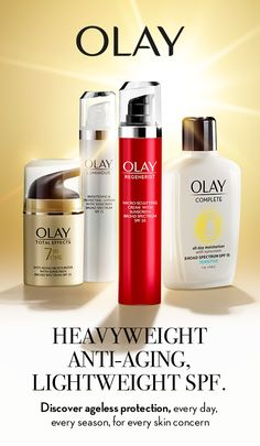 Discover ageless protection, every day, every season, for every skin concern. Get everyday UVA/UVB protection with Olay's Solasheer Technology Formula for lightweight moisturization and anti-aging benefits. Learn more and protect your skin at Olay.com