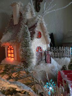 glitter house - love the glow!