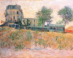 """Vincent van Gogh, """"Restaurant de la Sirene en Asnieres"""""""
