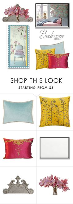 """""""Throw Pillows"""" by kim-mcculley ❤ liked on Polyvore featuring interior, interiors, interior design, home, home decor, interior decorating, Clarissa Hulse, The French Bee and mandmhomedecor"""