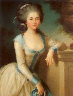 Marie Joséphine de Lorraine, Princess of Carignanby by Elisabeth Vigé Lebrun