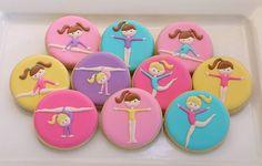 Gymnastics Cookies | Jaclyn's Cookies