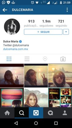 FCDulcetesCE : @DulceMaria  acabou de chegar a 1.900.000 seguidores no Instagram! Vem 2kk  ����  https://t.co/yh50tIErL9 https://t.co/l6hMDVAbGP   Twicsy - Twitter Picture Discovery