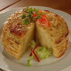 Croatian Recipes, Hungarian Recipes, Waffles, Pancakes, Crepe Cake, Mille Crepe, Crepes, Cabbage, Vegetables
