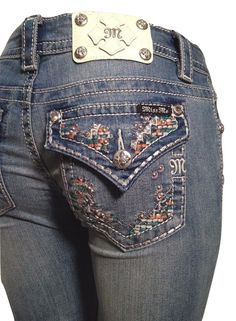 """MISS ME SIZE 31 FITS SIZE 32 X 30"""" SWEET AS CANDY BOOT CUT JEANS JP8242BD NWT #MissMe #BootCut"""