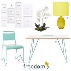 Freedom NZ Instagram   bright scandi home office