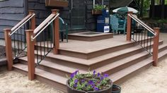 finished product. Handicap Ramps, Balcony Railing, Fence Gate, Deck, Stairs, Iron, It Is Finished, Craft, Outdoor Decor