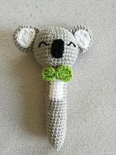 FREE Koala Rattle amigurumi pattern by Zuzanna Pabin